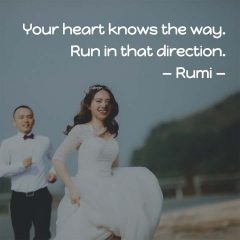 Rumi on Your Heart