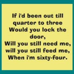 The Beatles: When I'm 64