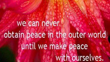 The Dalai Lama on Peace