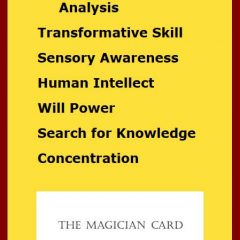 The Magician Card by Bevan Atkinson