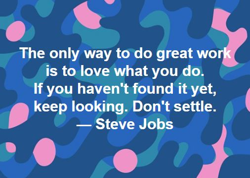 Steve Jobs on Doing Great Work