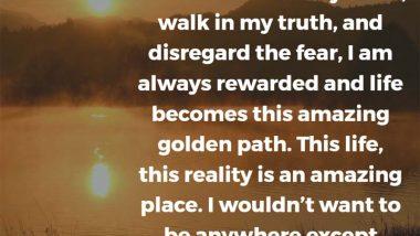 Melissa Etheridge on walking your truth