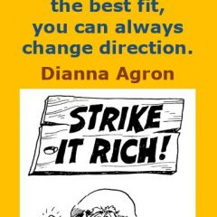 Dianna Agron on the Key to Success