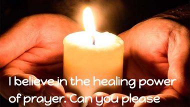 Chris Pratt on the healing power of prayer