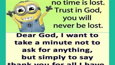 Minions and God