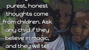 Scott Dixon on children and magic