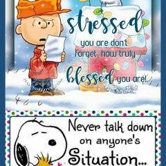 Life Tips from Snoopy and Charlie Brown