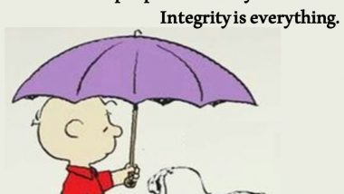 Snoopy on Integrity