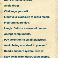 Self-Care for Depression
