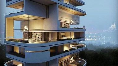 If I had to live in a city, this building would be just fine, as long as I had good neighbors. #city #home