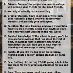 23 Reasons to Go to College