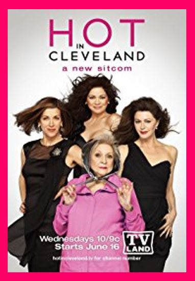 Hot in Cleveland - Do you love Ohio, TV series, or television? Then check out these TV shows set in Ohio or these television series related to Ohio in some other way. #Ohio #TV