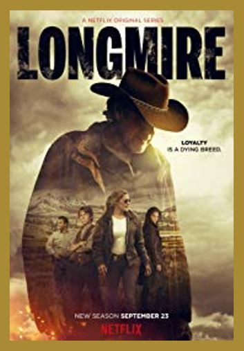 Longmire TV Show - Do you love Wyoming, TV series, or television? Then check out these TV shows set in Wyoming or these television series related to Wyoming in some other way. I Love Wyoming!
