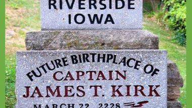 Captain James T Kirk Birthday
