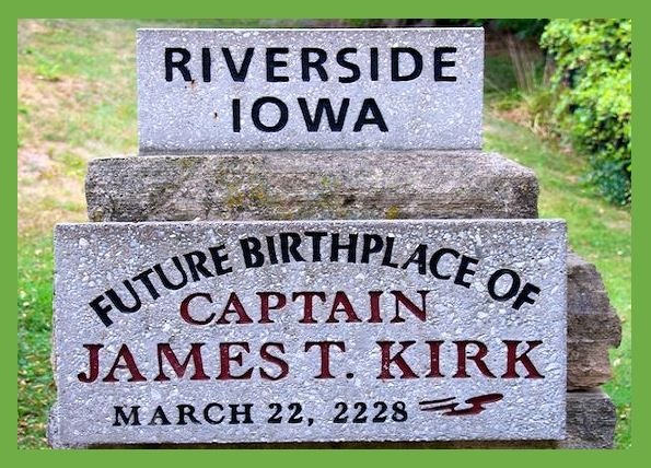 Captain James T Kirk Birthday - Do you love Iowa, TV series, or television? Then check out these TV shows set in Iowa or these television series related to Iowa in some other way. I Love Iowa!