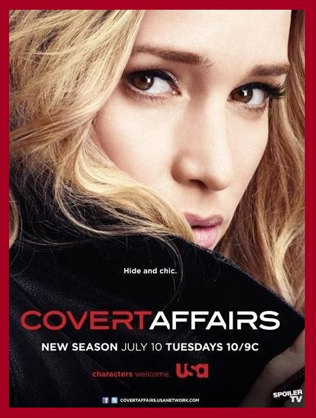 Covert Affairs TV Show - Do you love Virginia, television, or TV series? Then check out these TV shows set in Virginia or television series related to Virginia in some other way. I Love Virginia!