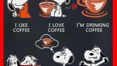 Snoopy on Coffee Moods