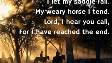 The Cowboy Prayer