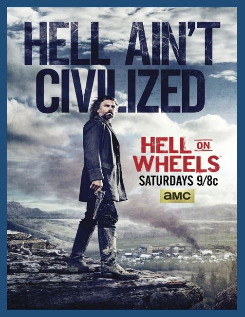 Hell on Wheels - Do you love Nebraska TV series, or television? Then check out these TV shows set in Nebraska or these television series related to Nebraska in some other way. I Love Nebraska!
