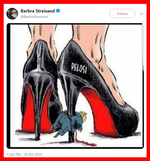 Barbara Streisand hateful tweet