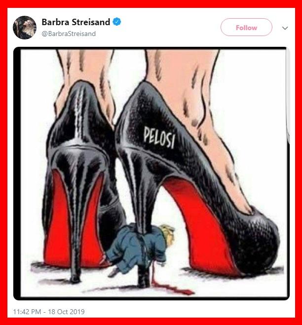 Barbara Streisand hateful tweet