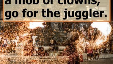 Go for the Juggler