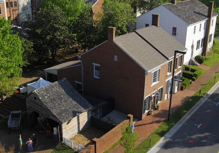 Alabama Constitution Hall Historic Park in Huntsville Alabama