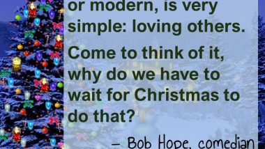 Christmas with Bob Hope