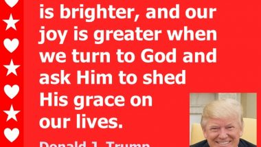 Donald Trump: On God's Grace