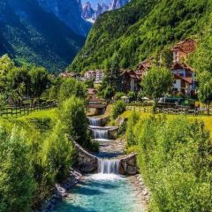 Molveno, Italy is a beautiful place