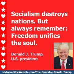 Donald Trump - Freedom Unifies the Soul
