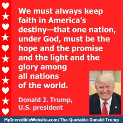 Donald Trump - On America