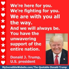 Donald Trump - We Are With You All the Way