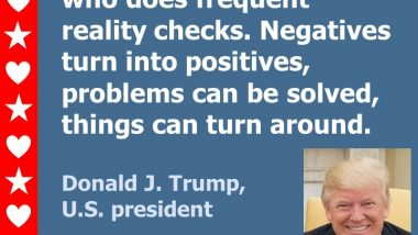 Donald Trump on Positive Thinking