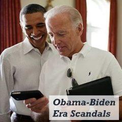 Obama-Biden Era Scandals during the Obama presidency
