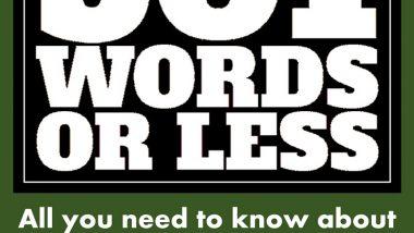Education in 501 Words or Less by John Kremer