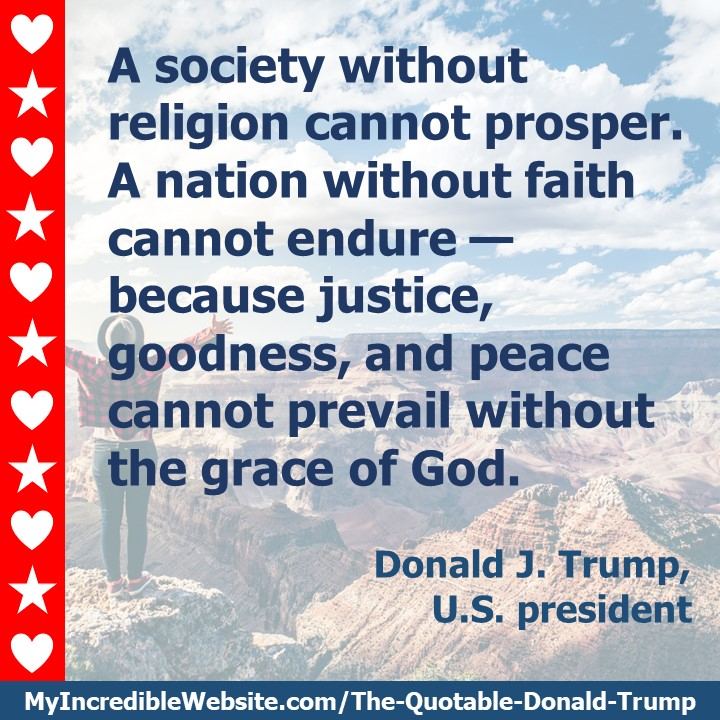 Donald Trump - On Religion and Liberty