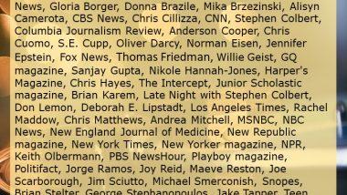 Mainstream Media Idiots Hall of Fame
