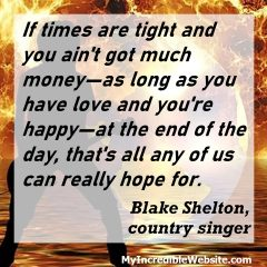 Blake Shelton on Love and Happiness