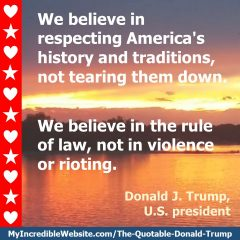 Donald Trump - On the Rule of Law