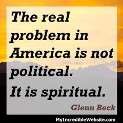 Glenn Beck on God