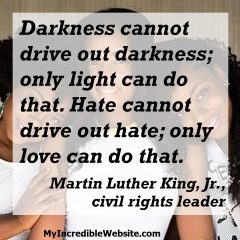 Martin Luther King on Love and Hate