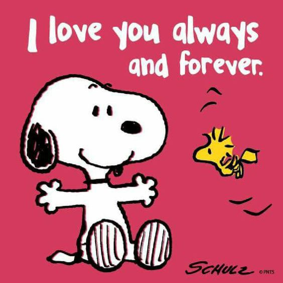 I love you - Snoopy