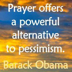 Prayer via Barack Obama