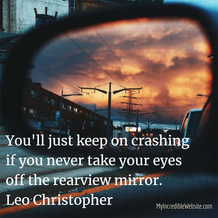 Leo Christopher on How Not to Crash