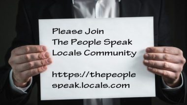 The People Speak Locals Community
