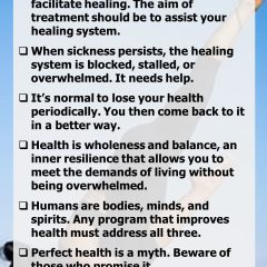 Dr Andrew Weil's 10 Principles of Health
