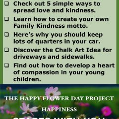 Take part in the Summer of Kindness Campaign.